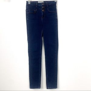 New look jeans size 6 skinny high rise